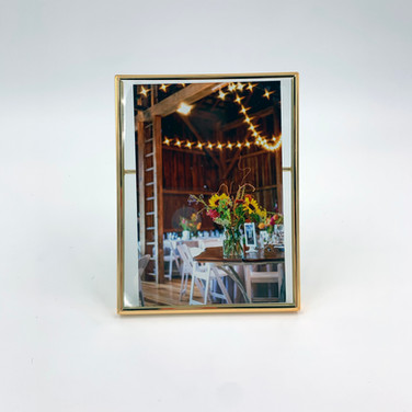 Gold 4x6 Frame (vertical only)