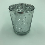 Silver Mercury Glass Votives