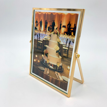 Gold 5x7 Frame (vertical only)