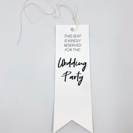 Paper Tag Reserved Sign