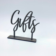 Wooden Gifts Sign