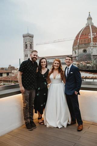 Amanda, Jessica and their Husbands