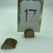 Wood Slice Placecard/Table Number Holders