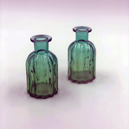Small Blue/Green Vases