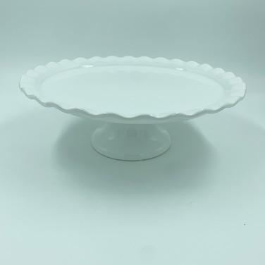 White Cake Platter
