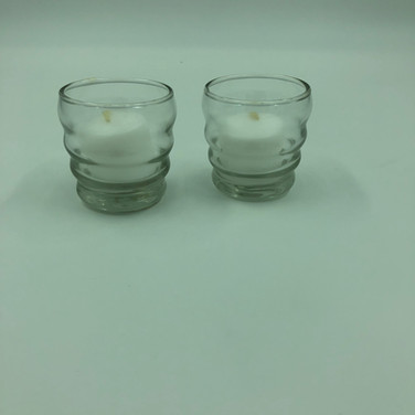Small Clear Votives