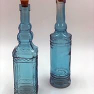Blue Tall Bottles