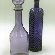 Tall Purple Bottles