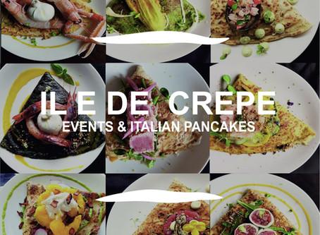 Italian Pancakes Catering | Best Events Panning | iledecrepe.com | in London