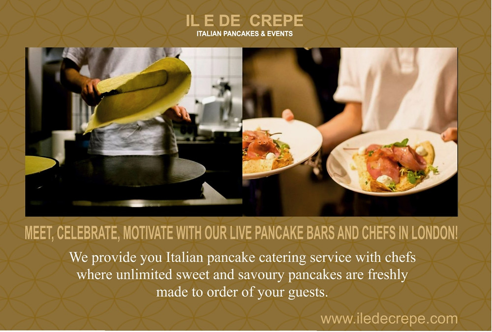 pancake catering london, event caterer london, crepe catering london