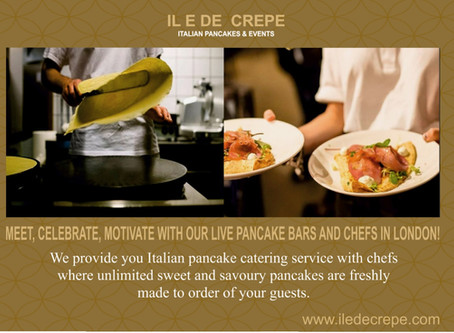 Why our crepe catering services are exactly what you need for your London event