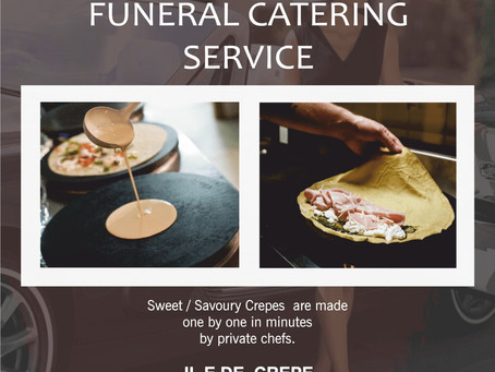 Funeral Catering to Home, Church in London - Short Notice Catering – iledecrepe.com