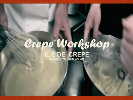 Crêpe Pancake Workshop Online or in Class - by IL E DE CREPE London, UK
