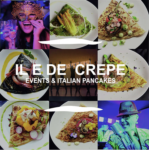 exclusive pancake catering / crepes in london by iledecrepe.com