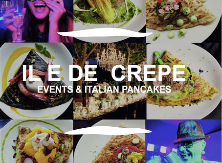 Entertaining Catering Service London | Italian Pancakes for Bespoke Events | iledecrepe.com