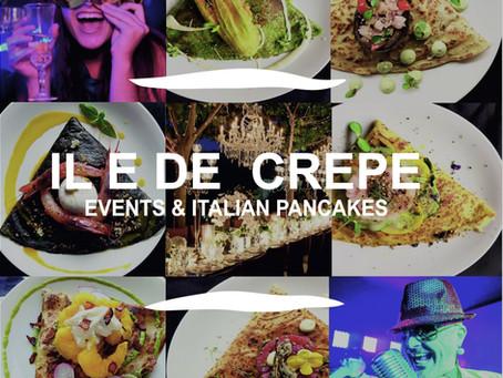 Entertaining Catering Service London | Italian Pancakes for Bespoke Events | iledecrepe.com