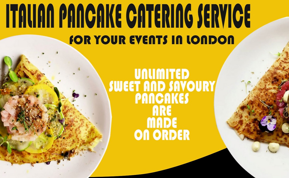 Best Pancakes Crepes catering services in London