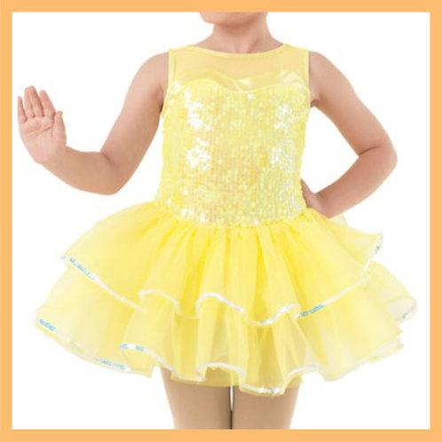 Girls Yellow Tutu