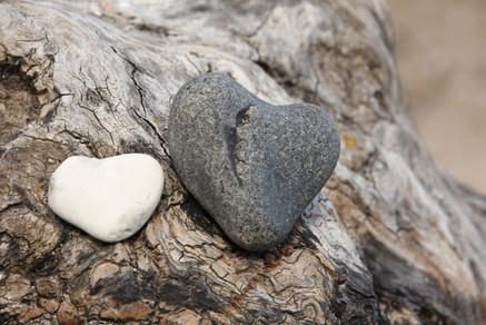 Herzensgrüße vom Strand