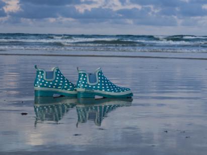 verlorene Schuhe