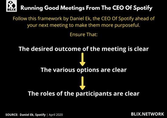 Blix Bite Business On Good Meetings