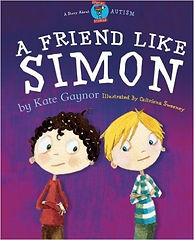 A book cover with two young boys who are friends.