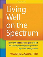 Book cover for Living Well on the Spectrum