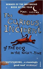 Book cover of The Curious Incident of the Dog in the Night-Time