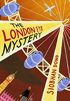 Book cover with illustration of the London Eye ride.