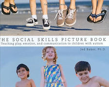 Book cover for The Social Skills Picture Book by Jed Baker, PhD