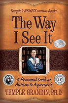 Book cover for The Way I See It by Dr. Temple Grandin