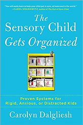 Book cover for The Sensory Child Gets Organised by Carolyn Dalgliesh