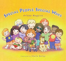 Book cover for Special People, Special Ways by Arlene Maguire