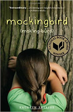 Book cover with photo of the back of a little girl who is hiding her face in her arms.