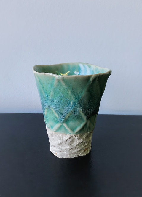 Small Bisque Mold Cup