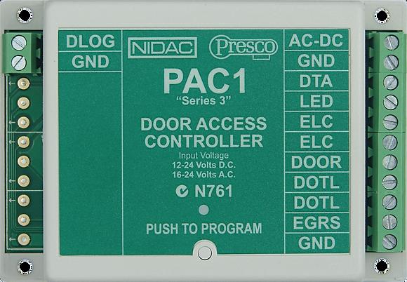 PAC1 Series 3 Single Door Controller