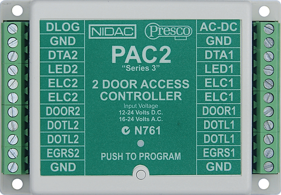 PAC2 Series 3 Two Door Controller