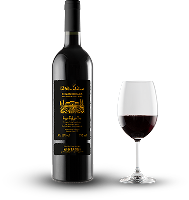 Khvanchkara red semi sweet wine