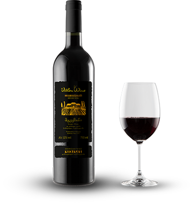 Alazani Valley red semi sweet wine