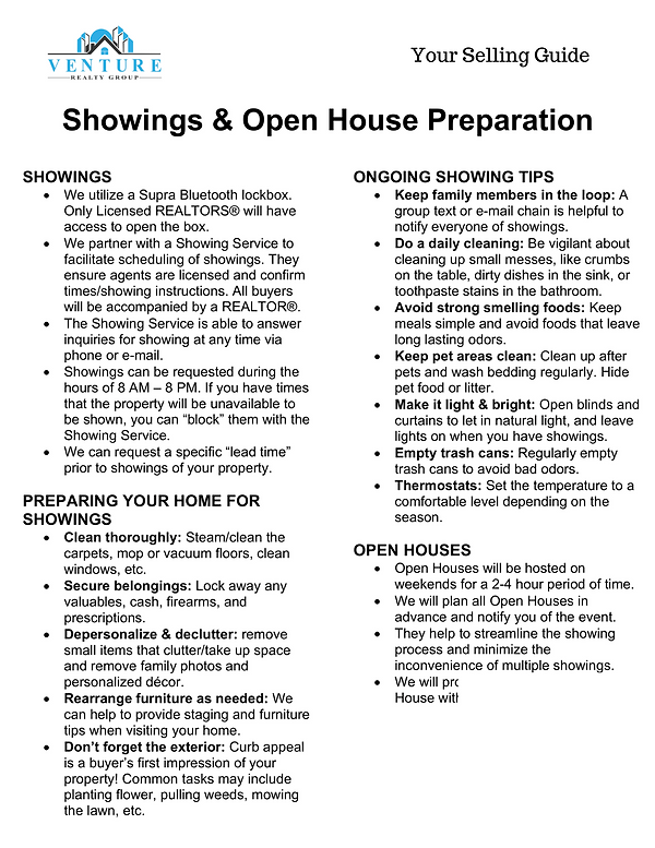 Showings and Open House Preparation.png