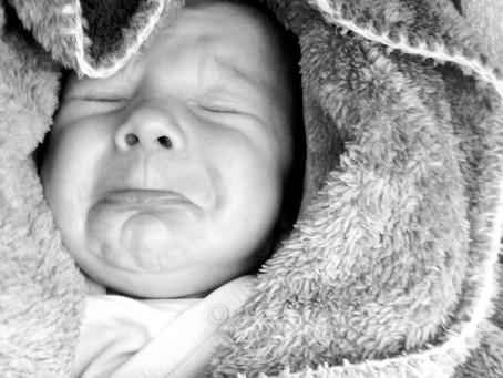 Mijn reis als mama: donkere maanden met een huilbaby