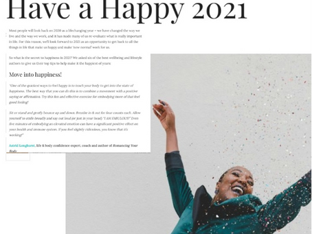Happy Hacks how to have a happy 2021