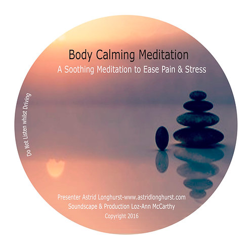 Body Calming Meditation CD