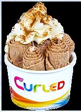 Curled Milo Icecream