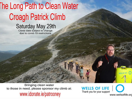 A Message from Pat Rooney and Wells of Life Ireland
