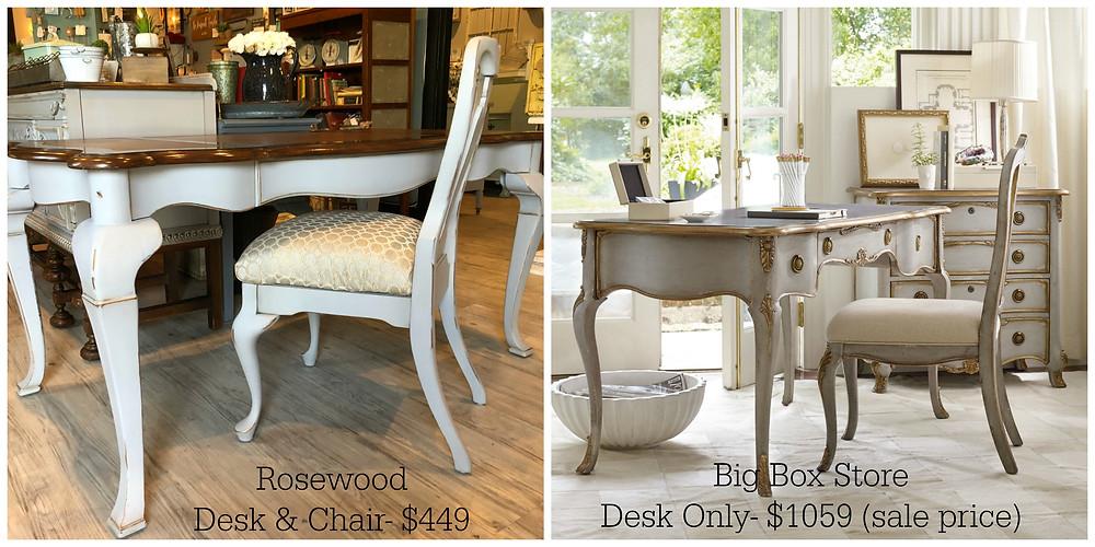 Desk cost comparison
