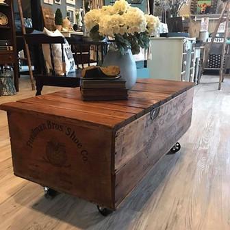 Vintage Crate Coffee Table