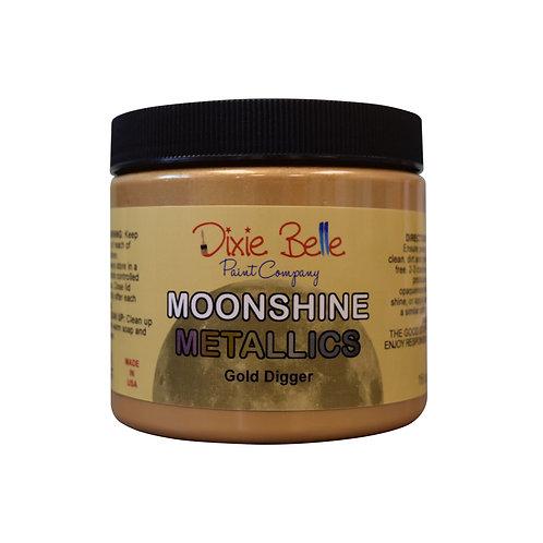 Moonshine Metallic Gold Digger Paint