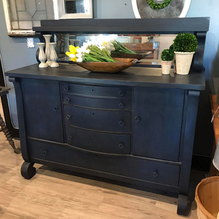 Navy Sideboard