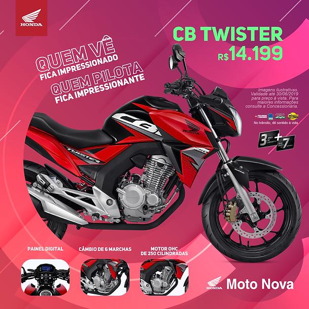 Post - Twister e Elite - Moto Nova - 04.
